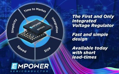 Empower Semiconductor Begins Volume Production of the EP70XX Integrated Voltage Regulator (IVR) Family